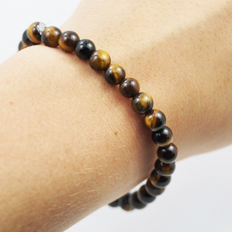 Bracelets et bijoux en œil de tigre