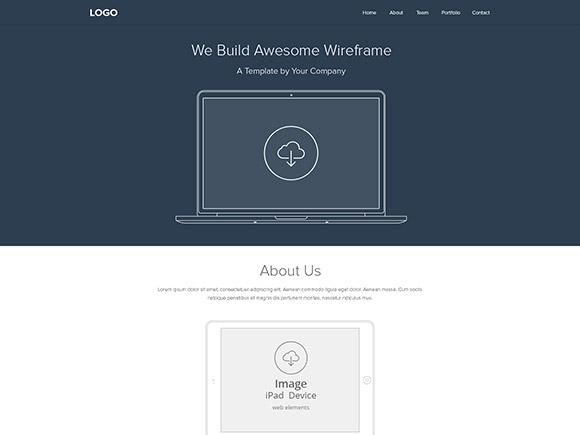Qu'est-ce qu'un filaire de site Web?